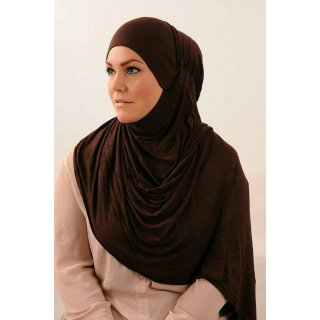 Hijab Maxi Kuwait brown
