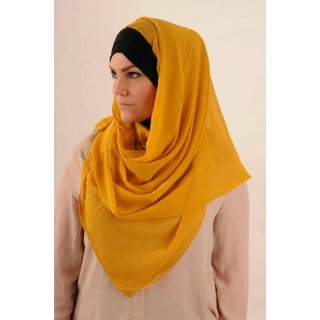 Hijab Kuwaity  yellow