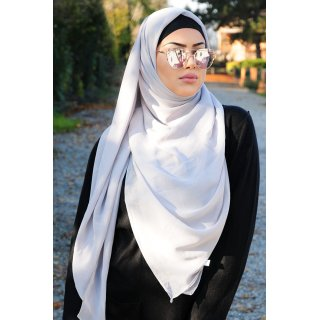 XXL headscarf 160cm X 160cm  Light Grey