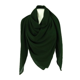 XXL headscarf 160cm X 160cm forest green